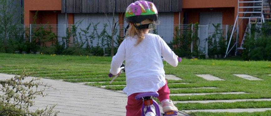 Prva vožnja s kolesom