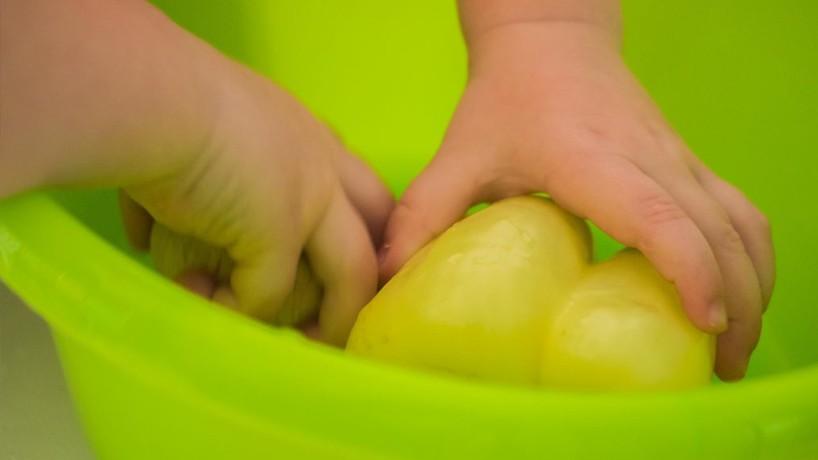 Umivanje sadja in zelenjave