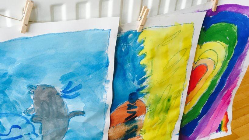 On line tečaj slikanja in risanja za otroke plus KODA za POPUST