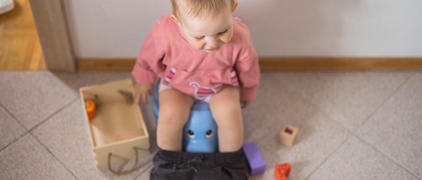 Kako prilagoditi dom za otroka, ki se bo pričel odvajati od plenic?